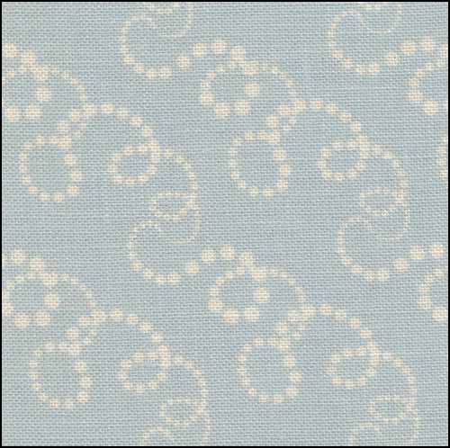 Christmas Swirls 28ct Linen - Click Image to Close