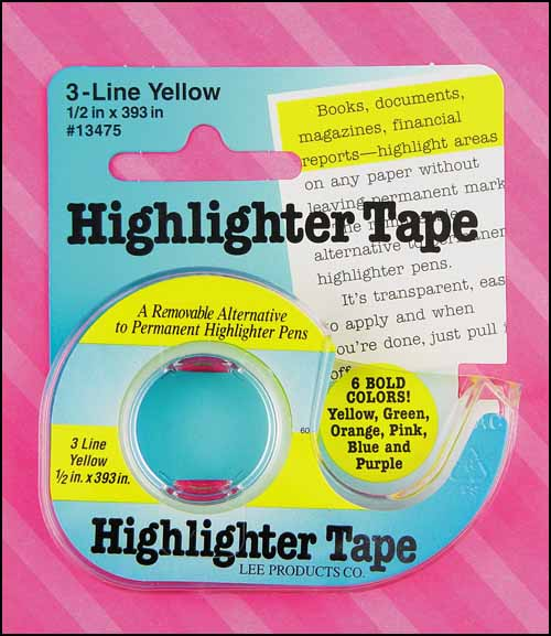 Purple Highlighter Tape - Click Image to Close